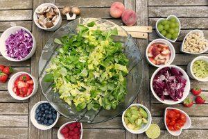 sałatki z warzyw